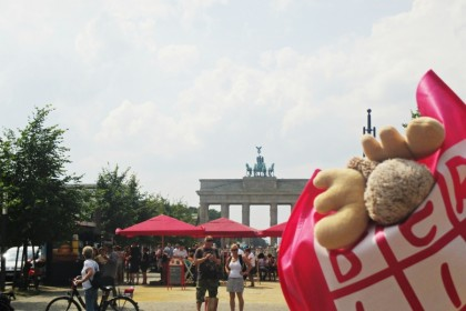 Zum Schmunzeln: Unser Elch zeigt euch Berlin