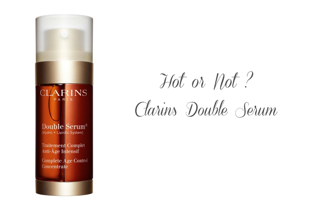 Clarins Double Serum, Review Clarins Double Serum, Double Serum Clarins, Super Twins Annalena und Magdalena