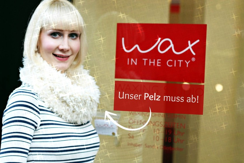 Wax in the City, Wax in the City Münster, Waxen Warmwachs, Waxing Warmwachs, Waxing, Sugaring Zuckerpaste, Waxing Vliesstreifen, Super Twins Annalena und Magdalena, Zwillinge Annalena und Magdalena
