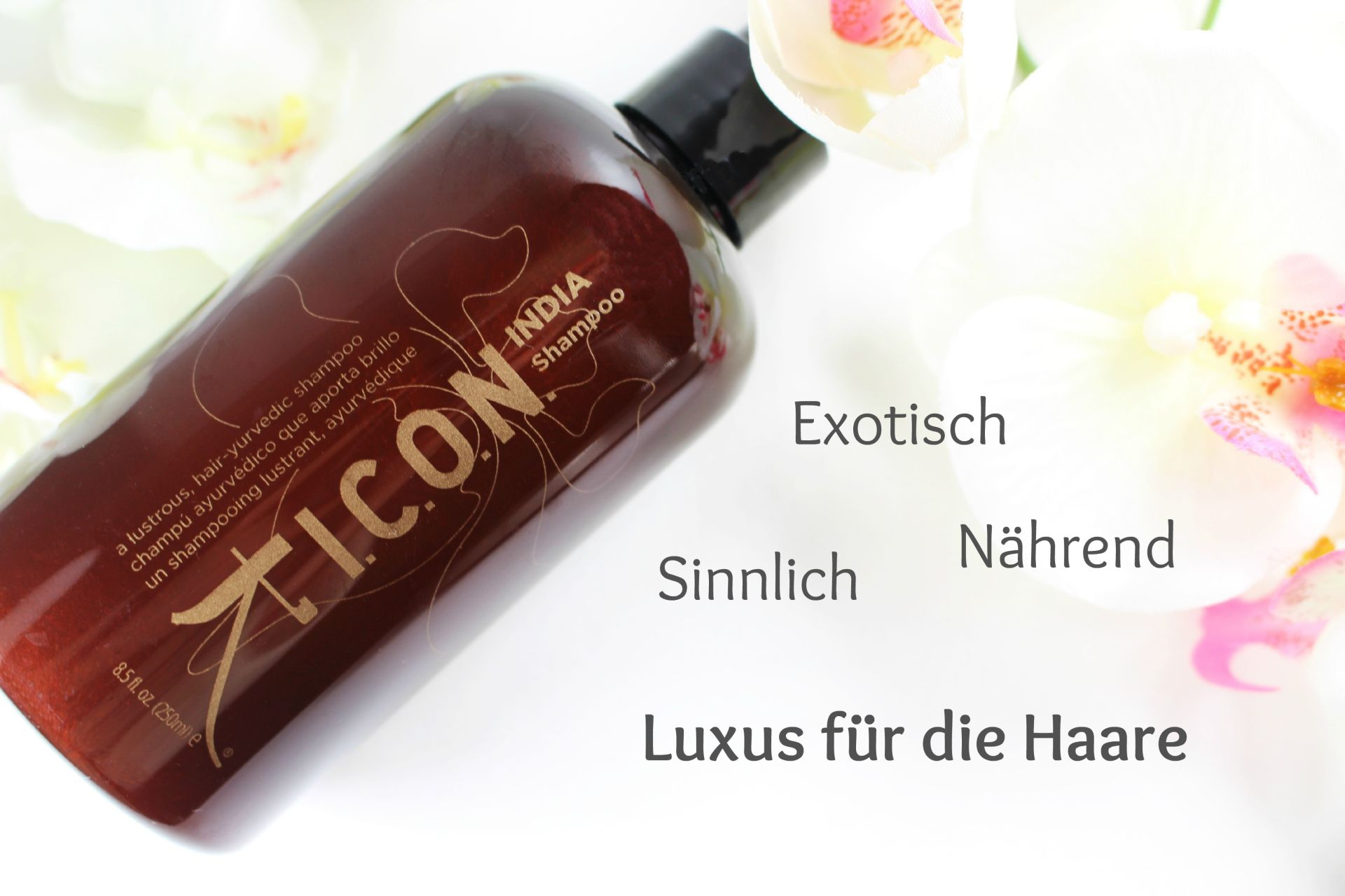 ICON India Shampoo Review, ICON India Oil, ICON India Shampoo Ingredients, ICON India Shampoo Inhaltsstoffe, Haarpflege Silikone, Super Twins Annalena und Magdalena