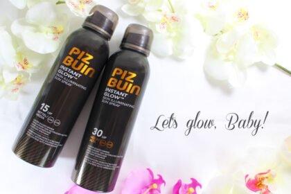 Goldschimmer: Piz Buin Instant Glow Sun Spray SPF 30