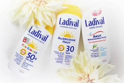 Unser liebstes Ladival Trio gegen UV-bedingte Hautschäden