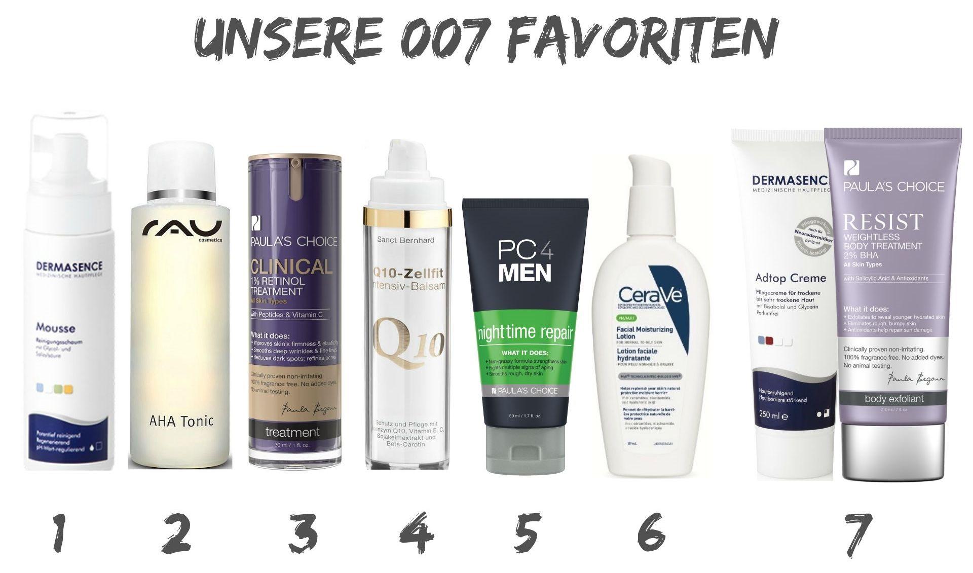 Männer Hautpflege Produkte, Hautpflege Routine, Routine Skin Care, Männer Pflege Routine, Männer Gesichtspflege, PC4Men, Super Twins Annalena und Magdalena