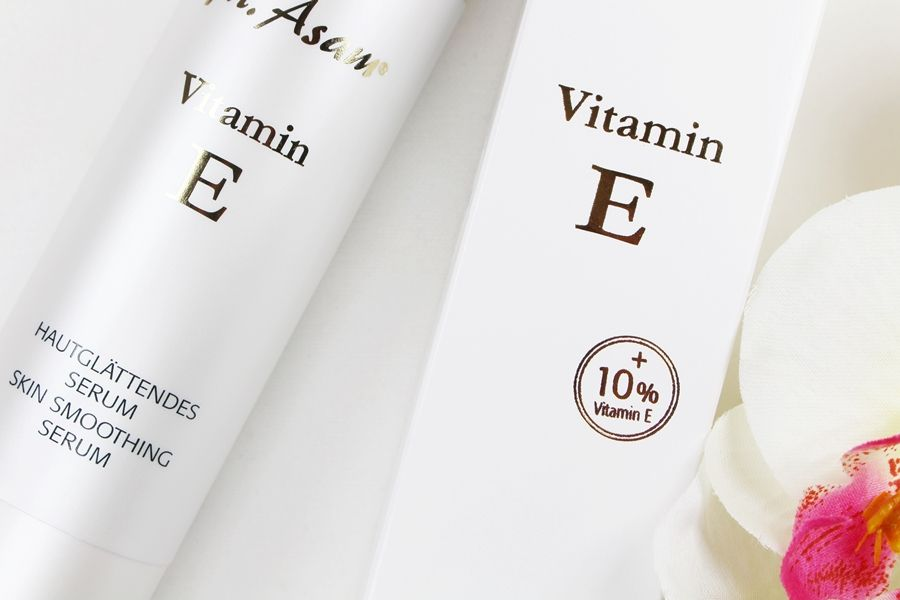 M. Asam Vitamin E Serum, Vitamin E Acetat, Serum trockene Haut, Vitamin E Hautpflege, Super Twins Annalena und Magdalena