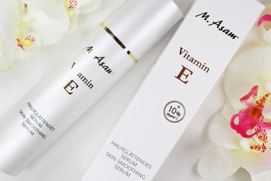 M. Asam Test, M. Asam Vitamin E Serum, Vitamin E Serum, trockene Haut was tun, trockene Haut im Gesicht, Super Twins Annalena und Magdalena