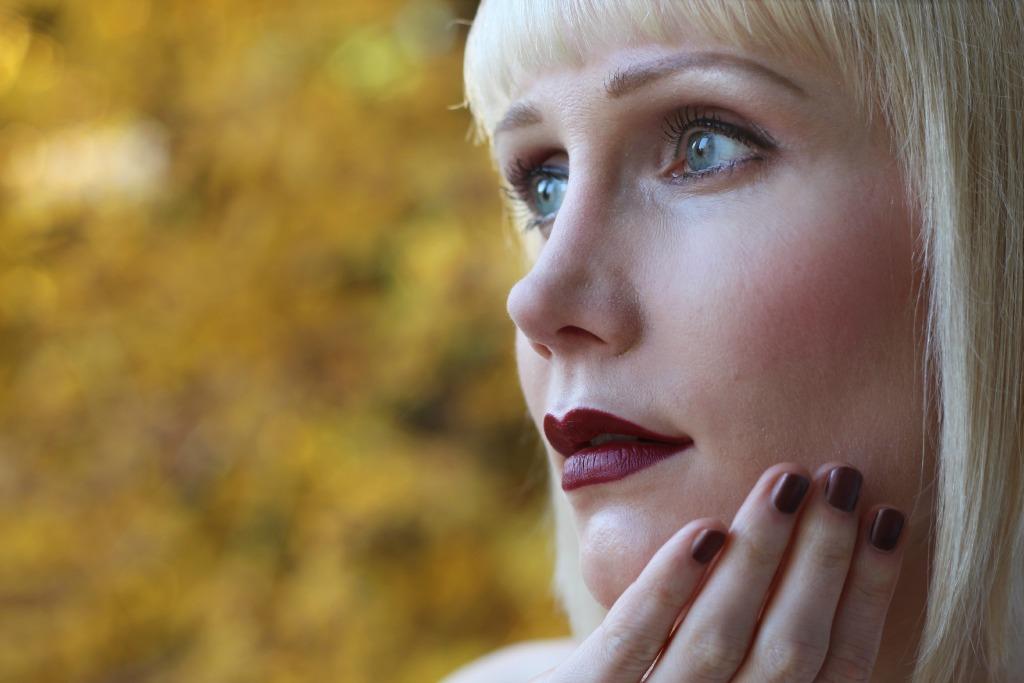 Halloween Makeup, Herbst Makeup Tutorial, Fotoshooting Ideen Outdoor, Sleek Makeup, ghd Glätteisen, Herbst Looks Blog, Halloween Schminke, Super Twins Annalena und Magdalena
