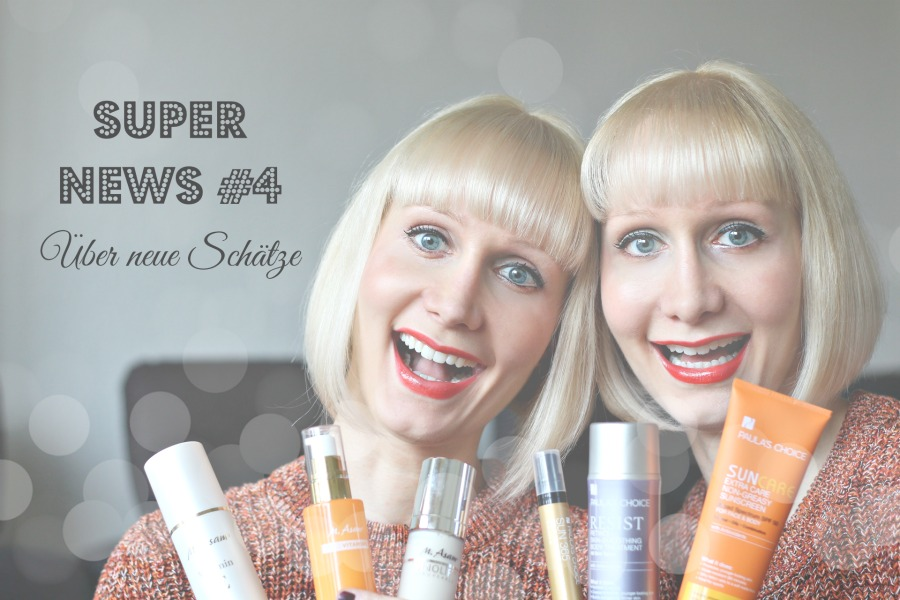 Super News, Paula's Choice, Glamour Shopping Week, M. Asam, Super Twins Annalena und Magdalena