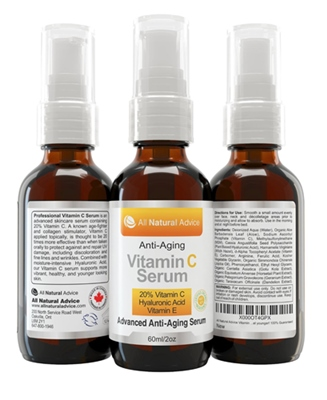 All Natural Advice Viamin C Serum