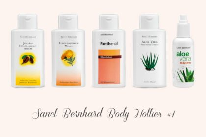 Unsere Hotties: Sanct Bernhard Bodylotions #1
