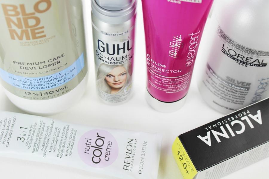 Silber farbe haare  Blonde Haare ohne Gelbstich: Unsere Must-Haves