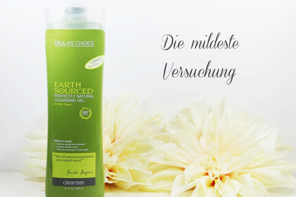 Paula's Choice Earth Sourced Cleanser, Paula's Choice Earth Sourced Cleansing Gel, Naturkosmetik ohne Alkohol, Naturkosmetik ohne Duftstoffe, Gesichtsreiniger ohne Alkohol, Gesichtsreiniger ohne Duftstoffe, Super Twins Annalena und Magdalena