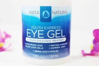 InstaNatural Youth Express Eye Gel - 3% Matrixyl 3000