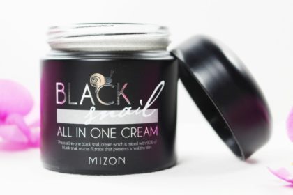 Mizon Black Snail All in One Cream - 90% Schneckenschleim