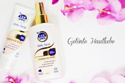 Getönte Hautliebe: SunSense Daily Face Invisible Tint Finish SPF 50+