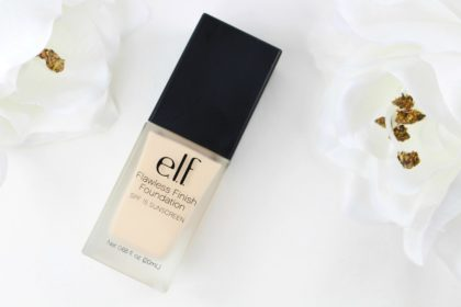 elf Studio Flawless Finish Foundation SPF 15 in Porcelain