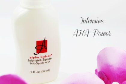 AHA Toner: Alpha Hydrox Intensive Serum 14%