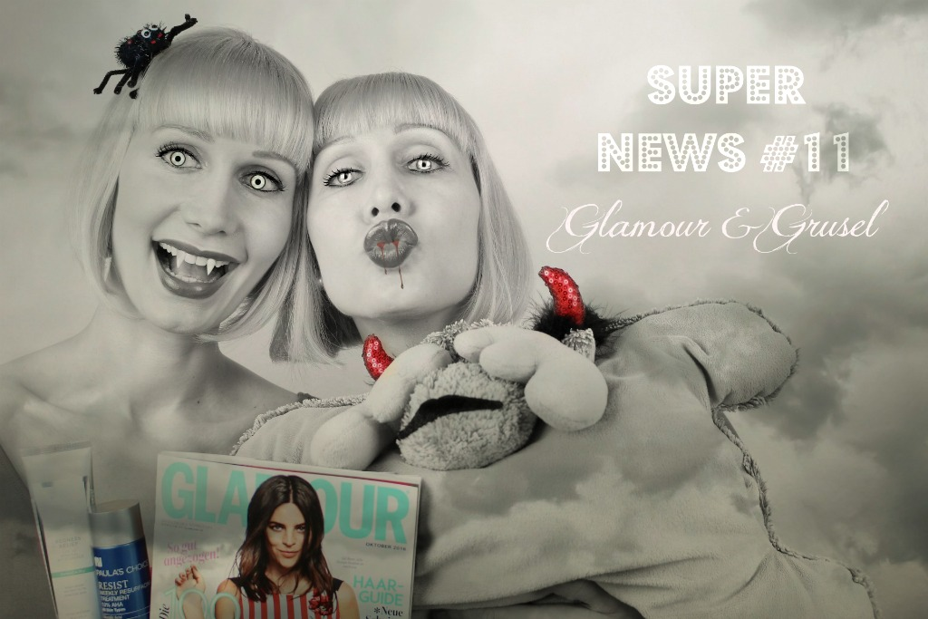 Glamour Shopping Week 2016, Glamour Shopping Week Herbst 2016, Glamour Shopping Week Oktober 2016, Glamour Shopping Week Paula's Choice, Glamour Shopping Week Erfahrungen, Glamour Shopping Week Paula's Choice Code, Halloween 2016, Super News Super Twins, Super Twins Annalena und Magdalena