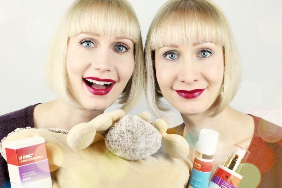 DMC Gutschein, DMC Dermo Cosmetics Erfahrungen, DMC Dermo Cosmetics Test, DMC Dermo Cosmetics Asam, DMC Dermo Cosmetics Falten-Repair Serum, DMC Ultra Feuchtigkeit 24h Creme, DMC Augenpflege, Hautpflege ohne Alkohol und Duftstoffe, Super Twins DMC, Super Twins Anti Aging, Super Twins Annalena und Magdalena