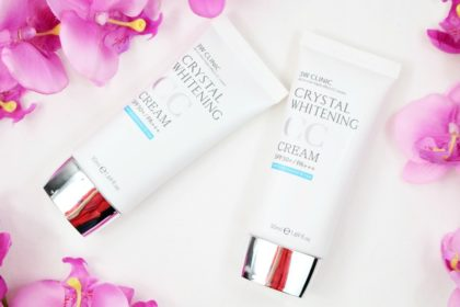 Geheimtipp: 3W Clinic Crystal Whitening CC Cream SPF 50+ in 01 und 02