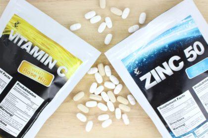 Warum wir auf unsere Supplements Vitamin C und Zink schwören