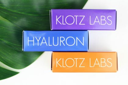 Unsere Top 5: Hochkonzentrierte Hyaluronsäure von Klotz Labs