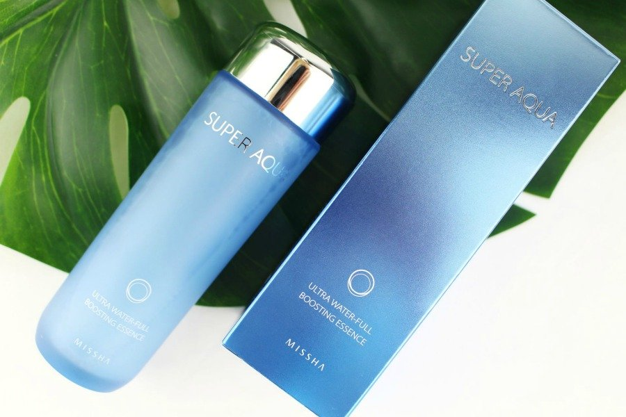 Missha Super Aqua Review, Missha Super Aqua Essence Review, Missha Super Aqua Ultra Waterfull Boosting Essence Review, Missha Super Aqua Ultra Bio Essence Review, Gesichtswasser ohne Alkohol und Parfum, Super Twins Missha, Super Twins Annalena und Magdalena