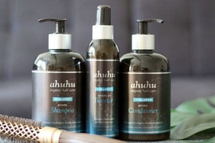 Ahuhu Hyaluron Hydro Serie: Shampoo, Conditioner und Booster