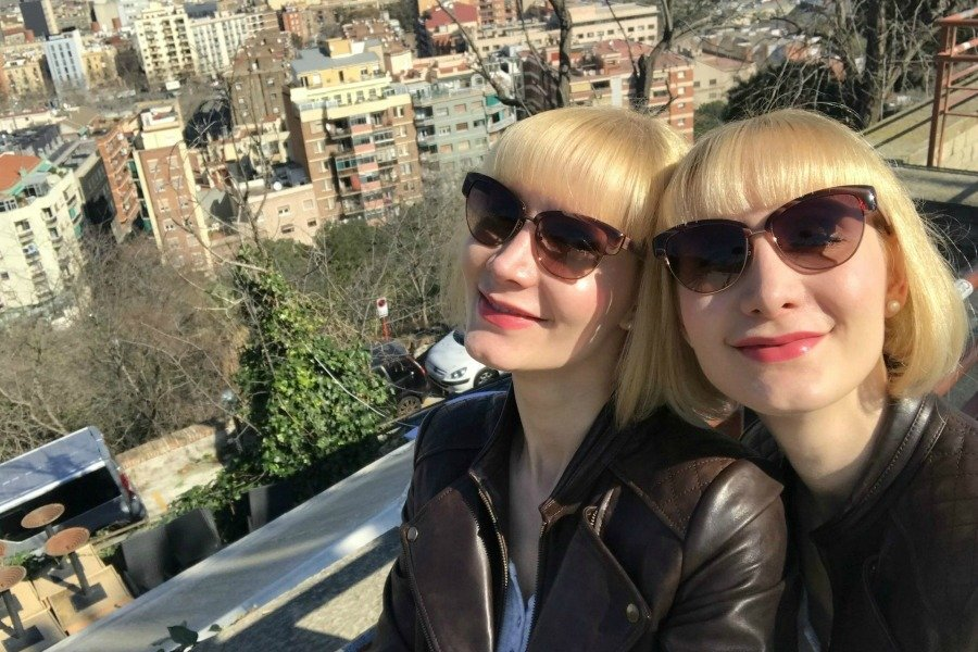 Barcelona Sightseeing Tipps, Barcelona wo essen, food and drink places Barcelona, essen und trinken Barcelona, Montjuic Barcelona, Super Twins Barcelona, Super Twins Annalena und Magdalena