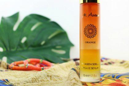 M. Asam Orange 2-Phasen Serum belebt Haut und Sinne