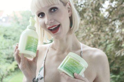 Grüne Zitrone trifft milden Duschschaum und sahnige Körperbutter