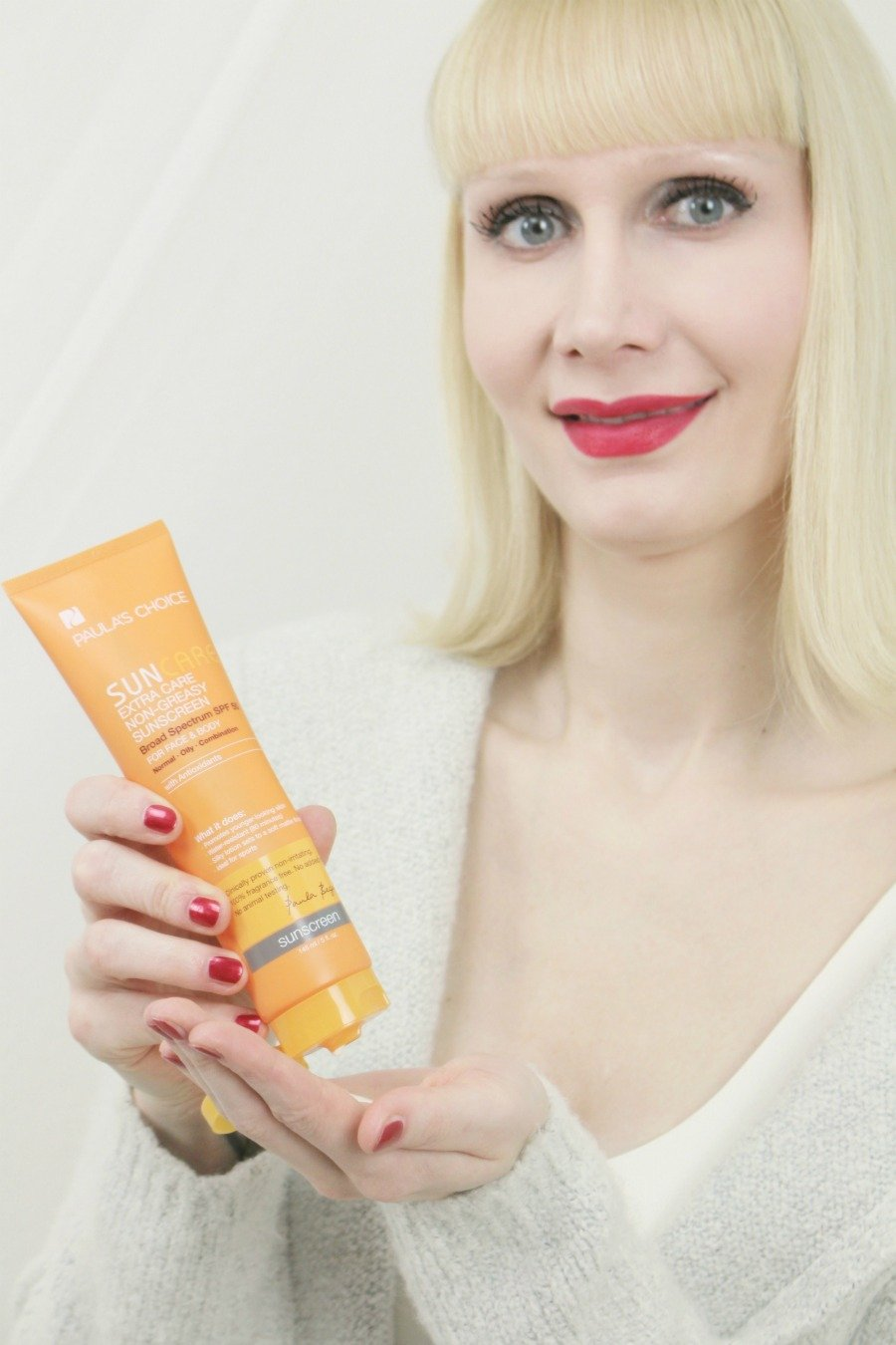 Was ist Anti Aging Pflege, Hautalterung verlangsamen, lichtbedingte Hautalterung, beste Anti Aging Gesichtspflege, Anti Aging Wirkstoffe, Anti-Aging Sonnencreme, Paula's Choice Sonnencreme Erfahrungen, Paula's Choice Extra Care Non-Greasy Sunscreen Erfahrungen, Sonnencreme gegen Falten, Sonnencreme gegen Hautalterung, Anti-Aging Produkte mit 20, Anti Aging Beauty Blogger, Super Twins Blog, Super Twins Annalena und Magdalena