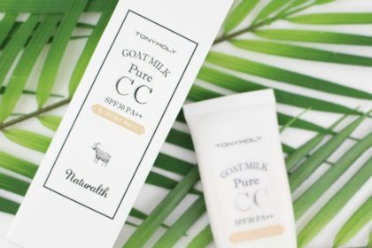 Ziegenmilch mal anders: Tonymoly Goat Milk CC Cream SPF 30 in 02