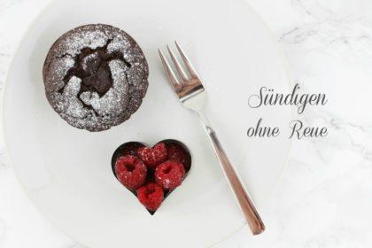Kalorienarme Schoko Brownie Muffins ohne Mehl & Zucker