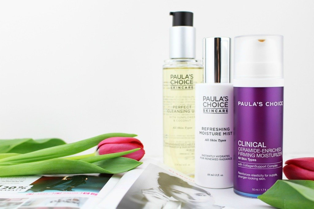 Glamour Shopping Week April 2018 Paula's Choice, Paulas Choice Glamour Shopping Week, Glamour Shopping Week Frühjahr 2018, Glamour Shopping Week April 2018, Paula's Choice Perfect Cleansing Oil, Paula's Choice Cleansing Oil Review, Paula's Choice Refreshing Moisture Mist, Paula's Choice Refreshing Moisture Mist Test, Paula's Choice Clinical Ceramide Moisturizer, Paula's Choice Clinical Ceramide-Enriched Firming Moisturizer Review, Paula's Choice Super Twins, Super Twins Annalena und Magdalena