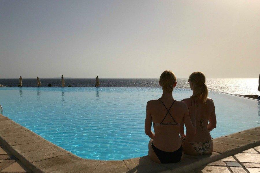 Schlank und fit im Urlaub, Ägypten Urlaub, Albatros Citadel Resort Ägypten, Super Twins Annalena und Magdalena
