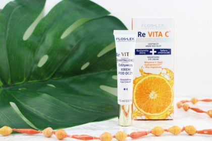 Floslek Re Vita C Augencreme: Ohne Pigmentflecken durch den Sommer