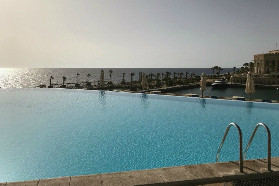Albatros Citadel Resort Ägypten, Super Twins Annalena und Magdalena