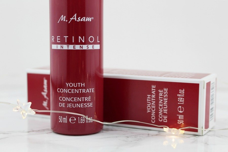 M Asam Retinol Intense Erfahrungen, M Asam Retinol Intense Reviews, M. Asam Retinol Intense Youth Concentrate Test, M. Asam Retinol Intense Youth Concentrate Review, Retinol Serum M Asam, Retinol Serum ohne Silikon, Serum ohne Duftstoffe, Serum ohne Alkohol, Serum gegen Falten Test, Retinol gegen Falten, Retinol gegen Akne, Retinol gegen Aknenarben, Retinol gegen Pigmentflecken, Retinol gegen Augenfalten, Super Twins Retinol, Supertwins M Asam Retinol, M Asam Super Twins, Super Twins Annalena und Magdalena