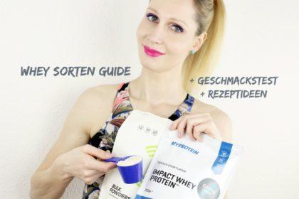 Ultimativer Whey Proteinpulver Guide + Geschmackstest + Rezepte