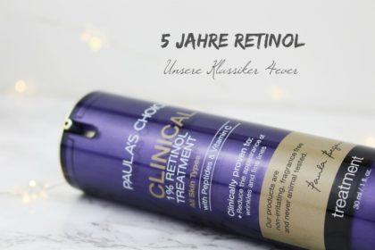 Das sind die besten Retinol Produkte aller Zeiten!