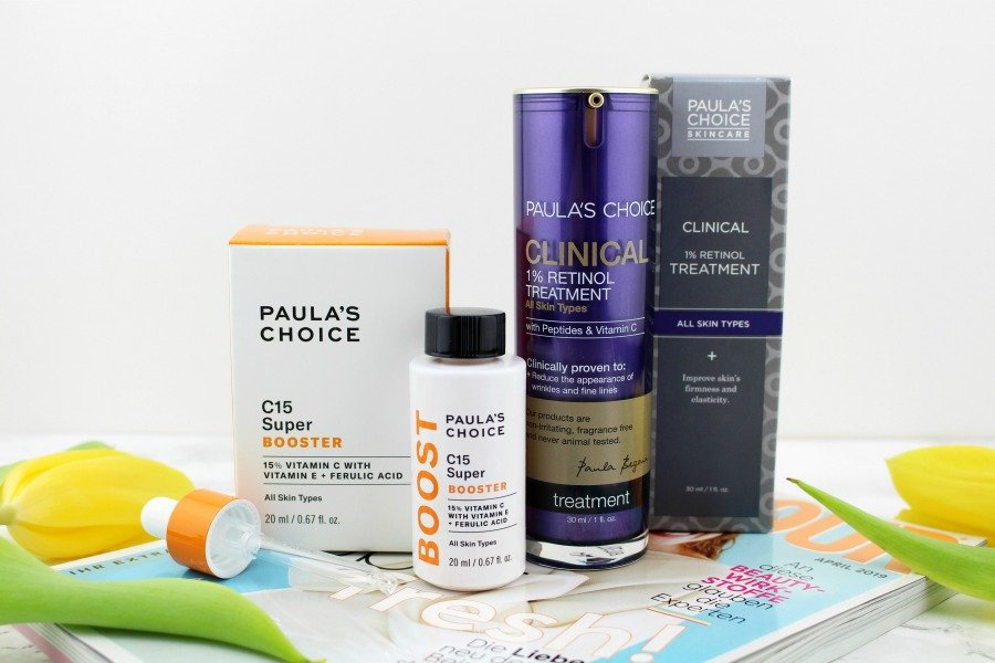 Glamour Shopping Week April 2019, Paula's Choice Clinical 1 Retinol Treatment Erfahrungen, Paula's Choice C15 Super Booster Erfahrung, Retinol und Vitamin C, Glamour Shopping Week Asambeauty, Glamour Shopping Week Paulas Choice, Asambeauty Super Twins, Super Twins M Asam, Super Twins Paula's Choice, Super Twins Annalena und Magdalena