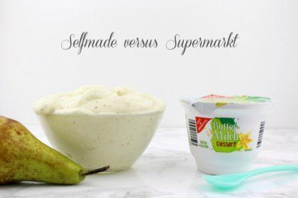 Buttermilch Dessert Birne-Vanille: Ein Traum zum Löffeln