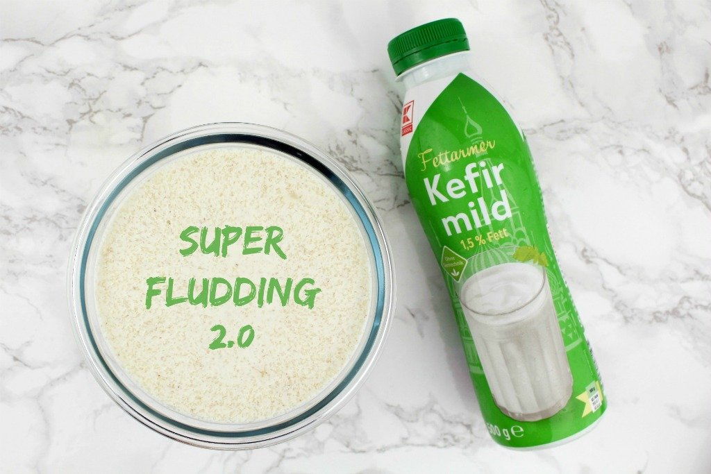Rezept mit Kefir, Low Carb Pudding, Pudding mit Kefir, Low Carb Pudding mit Kefir, Super-Fludding, Chia Pudding Alternative, Leinsamen Pudding Alternative, Super Twins Rezepte, Super Twins Annalena und Magdalena