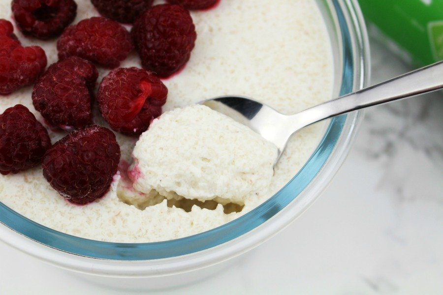 Rezept mit Kefir, Protein Dessert, Pudding mit Kefir, Low Carb Pudding mit Flohsamenschalen, Low Carb Pudding mit Kefir, Super-Fludding, Low Carb Pudding, Chia Pudding Alternative, Leinsamen Pudding Alternative, Super Twins Rezepte, Super Twins Annalena und Magdalena