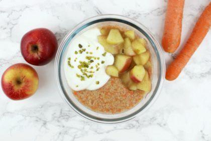 Satt und glücklich dank Protein Couscous Porridge à la Rübli