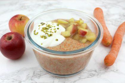 Couscous mal anders: Protein Porridge Bowl à la Rübli