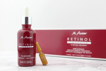 Power-Duo: M. Asam Retinol Intense Ampullen und Treatment
