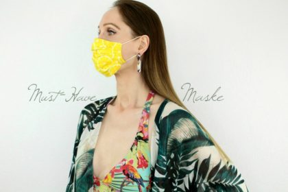 Das It-Piece des Jahres 2020: So schön tragen wir Masken