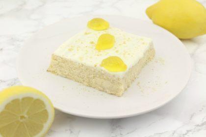 Beany Cheesy Cake: Der etwas andere Zitronen-Käsekuchen ohne Boden