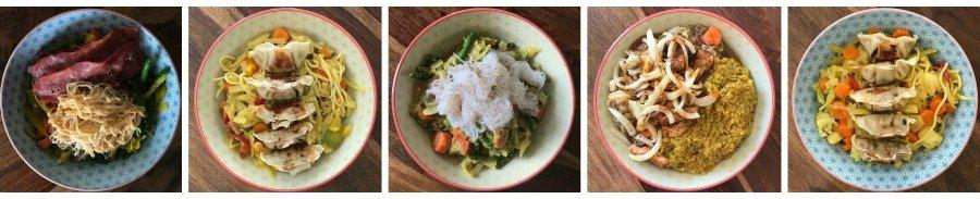 Bowl Rezepte einfach, Food Bowl Inspirationen, Bibimbap Bowl selber machen, Super Twins Food Bowls